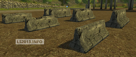 Image For Concrete-Barriers-Pack-v-1.0
