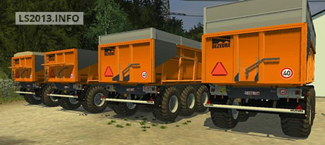 Dezeure TT Trailers Pack v 1.1 Fixed