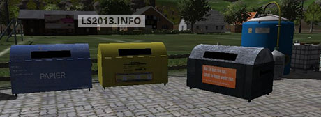 Dumpster Container Pack v 1.0