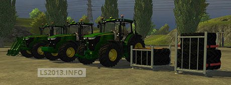 John Deere Series 7R 6 L Set Pack v 1.0