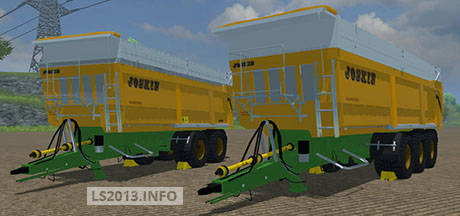 Joskin 2 and 3 axles Trailers v 1.0