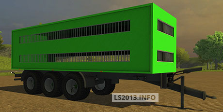 Krampe Pigs and Beef Transporter Trailer v 1.0