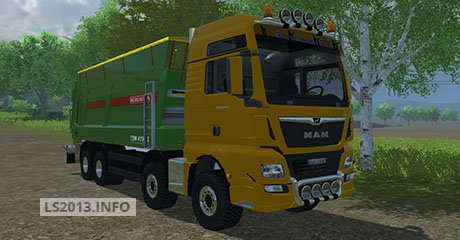 MAN-TGX-Euro-6-with-Bergmann-Manure-Trailer-v-1.0