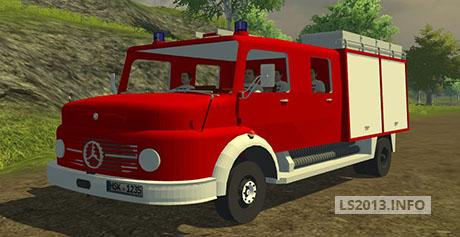 Mercedes Rundhauber Firefighter v 2.0