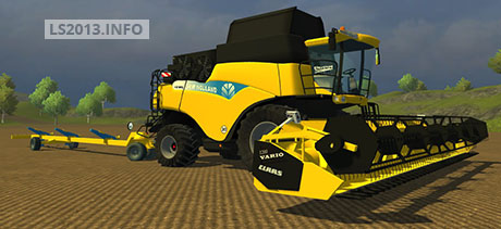 New Holland CR 9090 Multifruit v 2.0