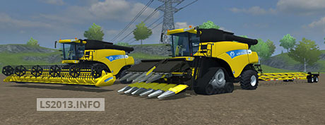 New Holland CR9090 Pack v 3.6