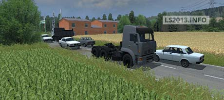 Russian Traffic Pack v 1.0