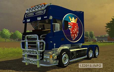 Scania Longliner Saab Edition v 1.0
