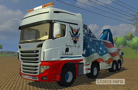 Scania R700 Wrecker v 1.0