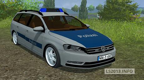 Volgswagen Passat B7 Police v 1.0