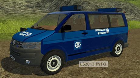 Volgswagen-T-5-THW-Police-v-1.0