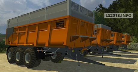 Image For pack-3-trailers-dezeure-tt