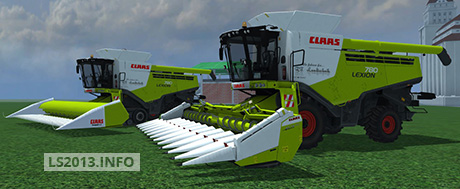 Claas Lexion 780 Pack v 3.0 Multifruit