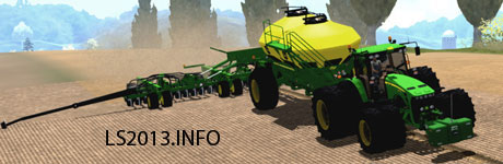 John Deere 1910 1890 Air Seeder v 1.0