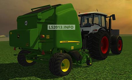 John-Deere-864-Premium-Baler-v-1.0