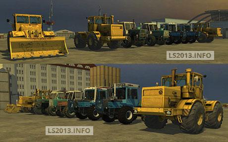 Kirovets-T-150-Agro-Pack-v-3.1