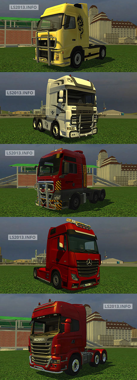 LS Trucks Pack