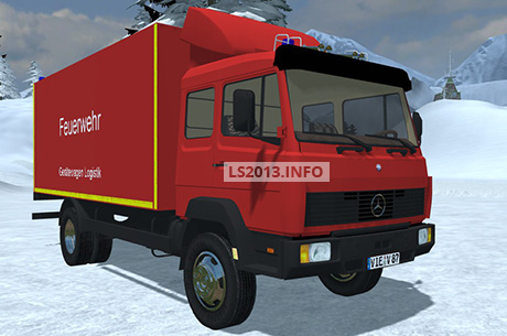MB Geratewagen Logistik Truck v 1.0 BETA