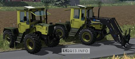 MB Trac 900 Turbo Pack 1.0 MR