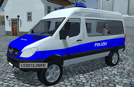 Mercedes Benz Police Sprinter v 1.0