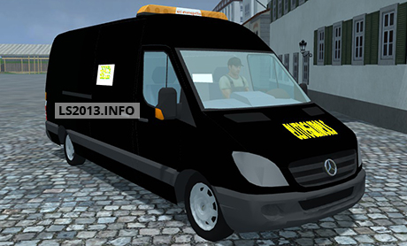 mercedes benz sprinter v 1 0 farming simulator 2013. Black Bedroom Furniture Sets. Home Design Ideas