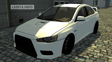 Mitsubishi Lancer Evolution X v 2.0