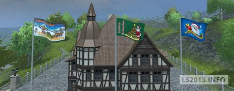 Christmas Flags v 1.0