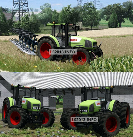 Claas-Ares-826