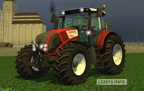 Claas-Axion-820-Dirt-Red