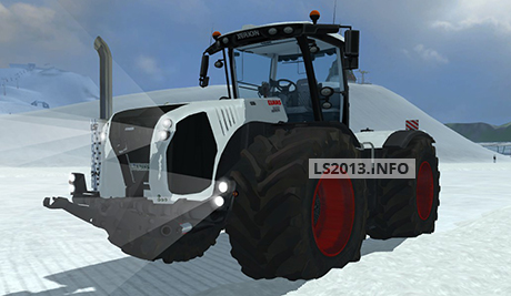 Claas Xerion 5000 VC v 2.0 White