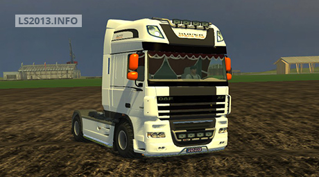 DAF XF 105 Super Space Cab v 1.0