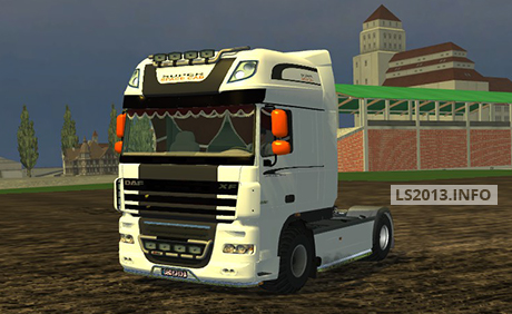 DAF XF 105 Super Space Cab v 2.0