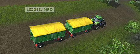 Deutz TTV 7260 with Trailer v 2.0