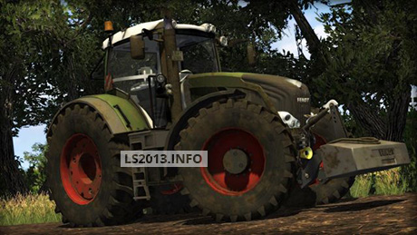 Fendt 828 Vario SCR Dirt