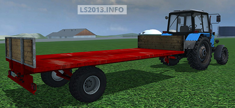 Homemade Bale and Pallet Trailer v 1.0