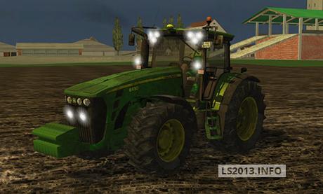 John Deere 8430 Dirt