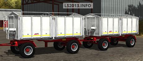 Kroeger Agroliner HKD 302 White v 1.0
