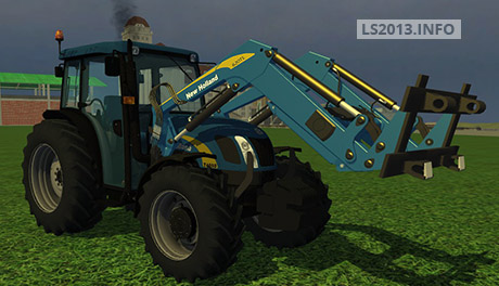 New-Holland-T-4050-with-Frontloader-v-2.0