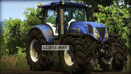 New Holland T7 210 Dirt | LS 2013 mods
