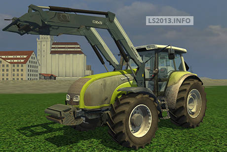 Valtra T140 with Frontloader v 1.0