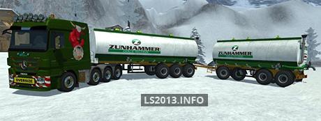 Zunhammer Liquid Manure Trailers Pack v 1.1