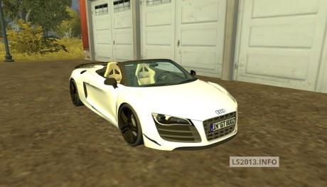 Audi R8 Spider v 1.1