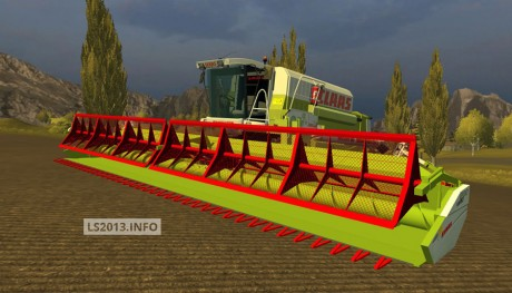 Claas Vario 1200 Sunflower Cutter v 1.0