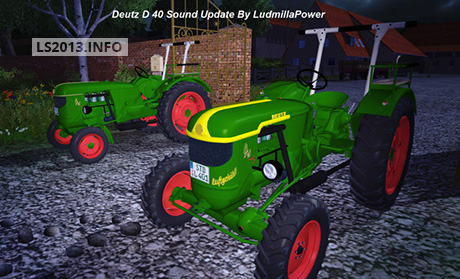 Deutz D40 Sounds v 1.0