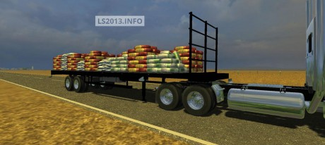Flatebed-Refillable-Seed-Trailer