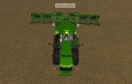 John Deere 9560 & Ford 9 m Cultivator