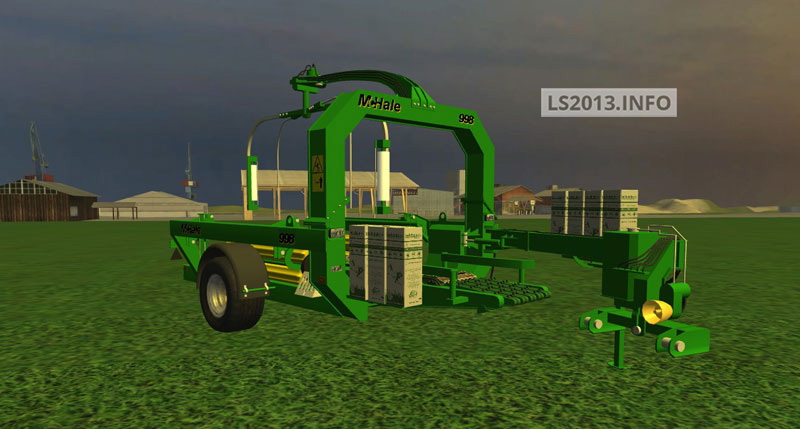 Mods 2013 mchale 998 601 pack v 1 1 in farming simulator 2013 implements tools