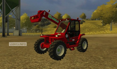 Merlo P41.7 Turbofarmer v 2.0 Red