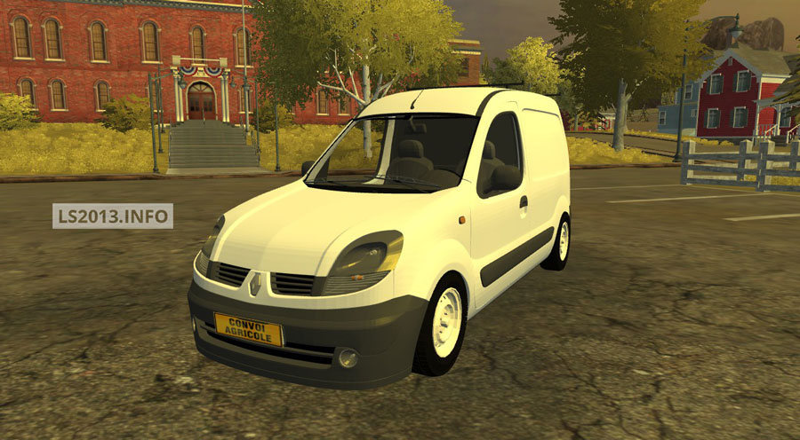 mods 2013 renault kangoo v 2 0 in farming simulator 2013. Black Bedroom Furniture Sets. Home Design Ideas