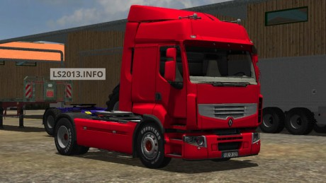 Renault Premium 460 v 1.0 Red